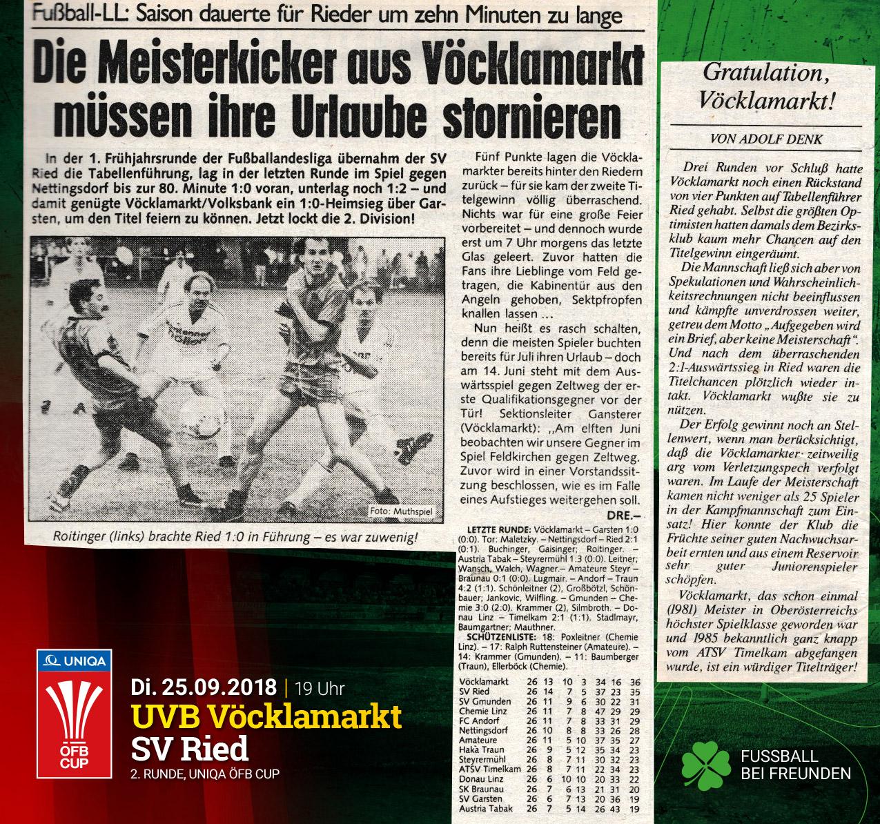 Meistertitel 1986